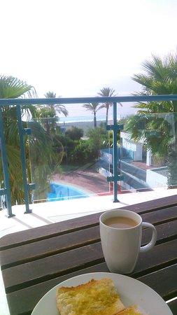 Castell de Ferro, Spania: Desayuno con las mejores vistas
