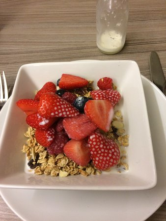 Radisson Blu Edwardian Grafton Hotel: Breakfast