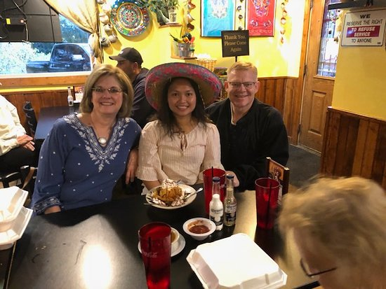 Larkspur, CO: Birthday party with fried ice cream