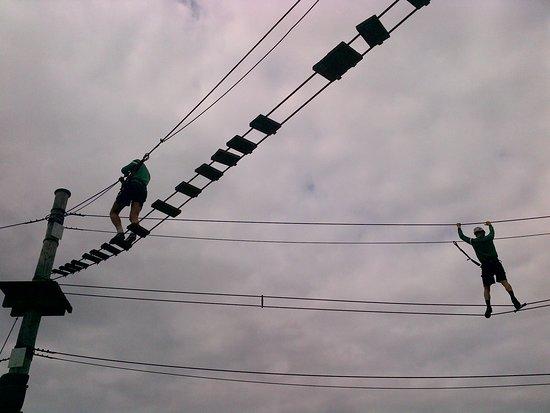 Welkom in Wirtzfeld - touwenparcours als teambuildin