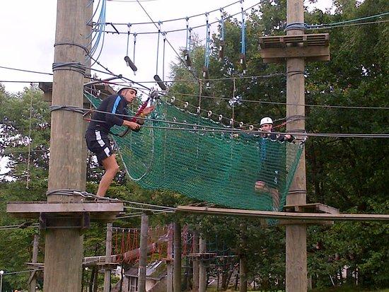 Welkom in Wirtzfeld - touwenparcours als teambuilding