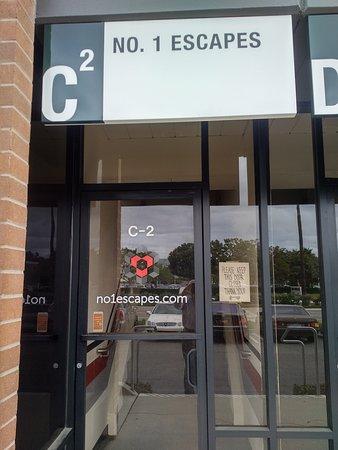 Entrance to No. 1 Escapes in Irvine, CA