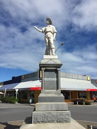 Hokitika, Neuseeland: Pioneers of the Frontier Statue