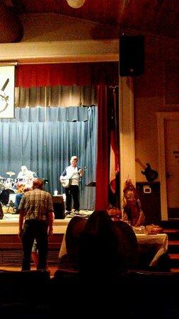 Woodbine, GA: 17 year old Banjo player playing Dueling Banjos