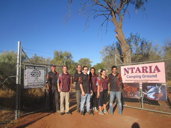 Hermannsburg, Australia: some of the staff for Ntaria