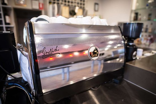 Attwood, Australia: Restaurant Coffee
