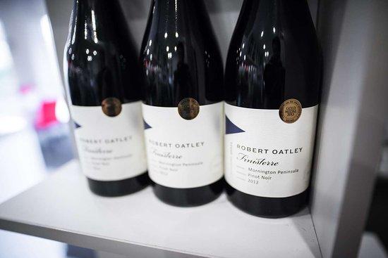 Attwood, Australia: Restaurant Wine