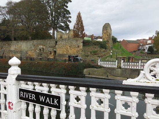 Tonbridge Castle: View from the River