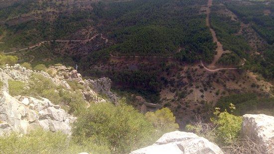 El Burgo, Испания: Widok z góry