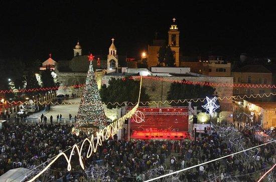 Christmas Eve in Jerusalem & midnight...