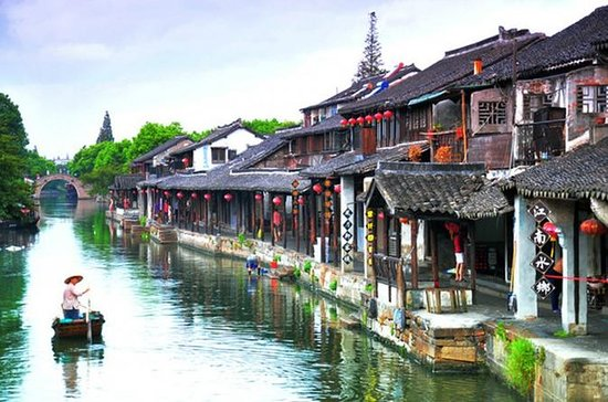 Fengjing Ancient Water Town Private...