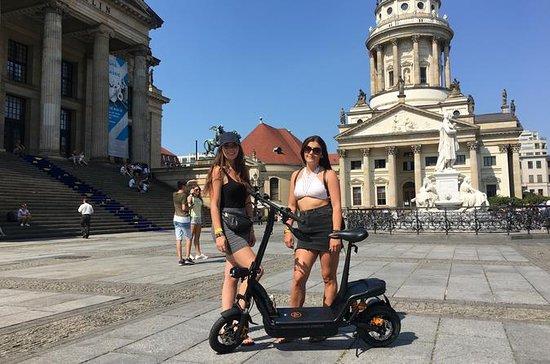Tour de aluguel de e-scooter
