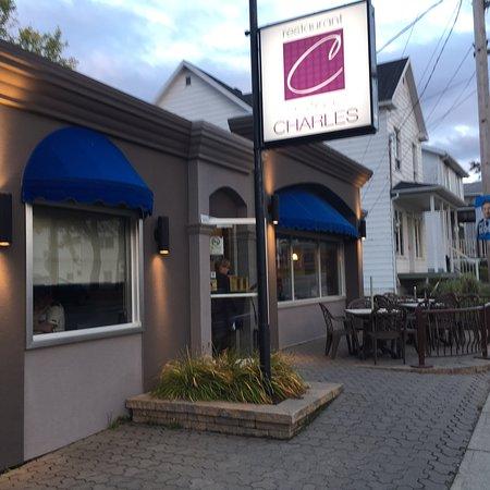 Saint-Philemon, Kanada: Restaurant Charles, St-Philémon