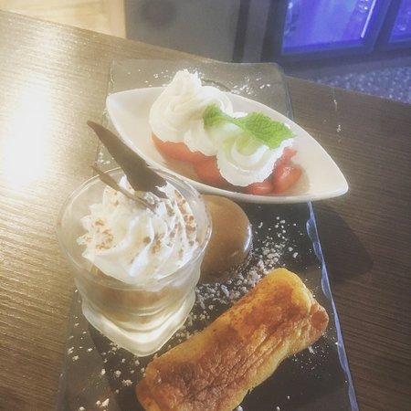 Auterive, ฝรั่งเศส: Café gourmand