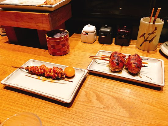 Rice Ball In Pork Belly Chicken Ovaries Picture Of Shirokane Tori