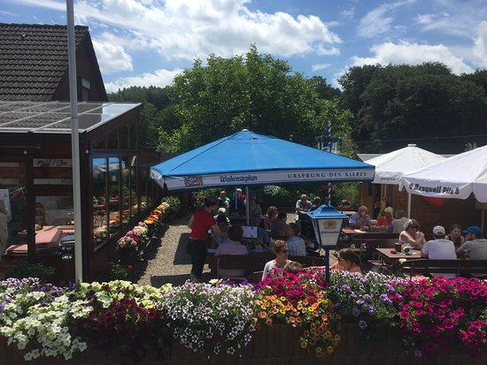 Radevormwald, Jerman: Klütinger Alm Biergarten