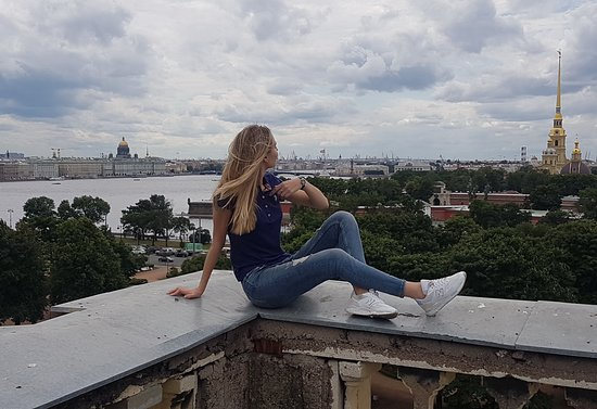 Roof Tours of St. Petersburg