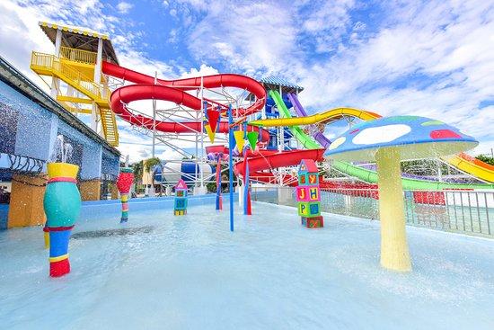 Iloilo City, Filippijnen: Waterplay