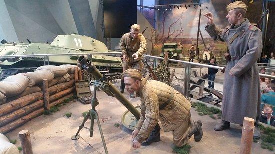 Белорусский государственный музей истории Великой Отечественной войны: Realistic war scene 2