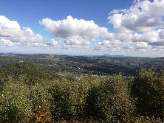Platforma widokowa na górze Jałowiec