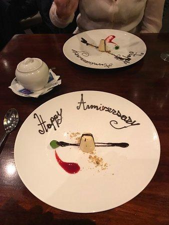 Shenton Park, Australia: Our surprise dessert!