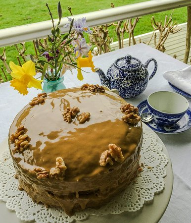 Our famous coffee cake
