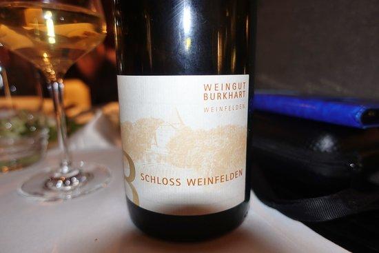 Lipperswil, Suisse : Un magnifique assemblage de Thurgovie (Sauvignon, Chardonnay et Pinot blanc)