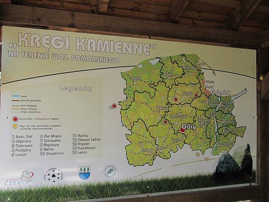 Pomerania Province, Poland: Informacja o położeniu rezerwatu na terenie województwa pomorskiego