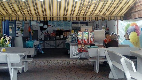 Wiele, Polen: Widok na bufet