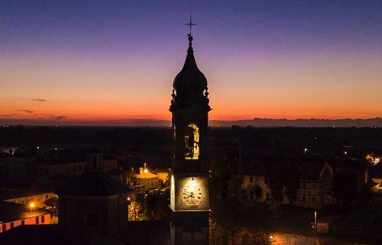 Zelata, Italie : Tramonto a Bereguardo