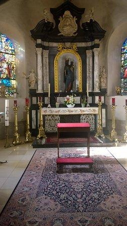 Church of Saint John the Baptist: side altar # 3 with the Black Madonna