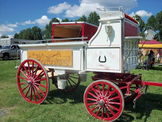 West Friendship, MD: Howard County Fair.  Photo by F.B. Meekins