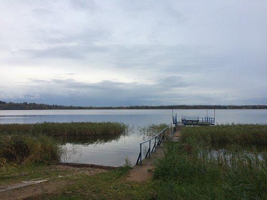 Tver Oblast, Russland: вид на озеро