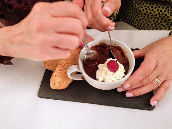 Crianlarich, UK: Chocolate Hot Pot