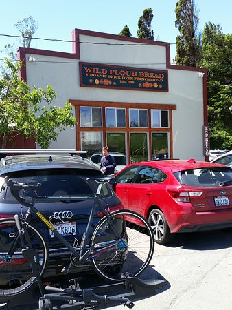 Freestone, CA: store front