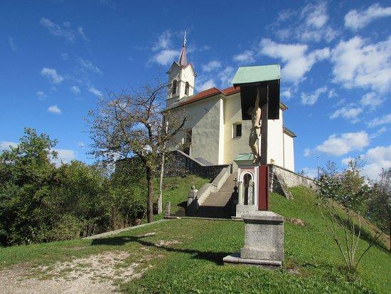 Skofja Loka, Eslovenia: la chiesa