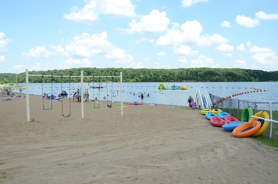 Litchfield, IL: Milnot Beach at Lake Lou Yaeger