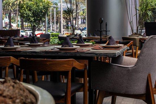 Increíble Terraza Con Vista A Palmas Picture Of Restaurant