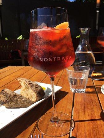 Nostrana: sun-dappled spritz :)