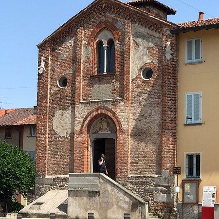 Lentate sul Seveso, Italien: 1369年に出来たコンベントが田舎の街にあり、良くこんな素晴らしい壁画が完全な形で残っていたなと思います。ストーリー性もハッキリと分かり、フレスコも良く出来ていて、絵も非常に上手く描けていてジ