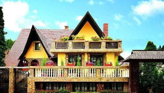 Vama, Romania: Front view