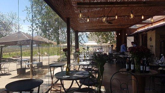 Rayuela Wine & Grill at Vina Viu Manent: Increíble después de esto puedo morir en paz