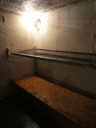 Bunkermuseum: Pritschen