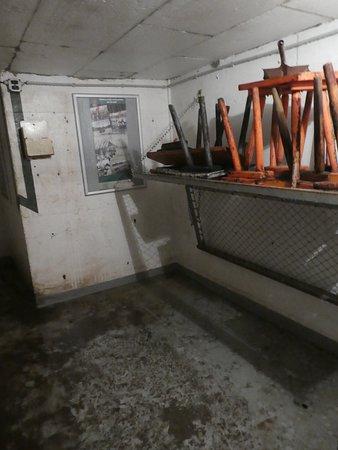 Bunkermuseum: Aufenthaltsbereich