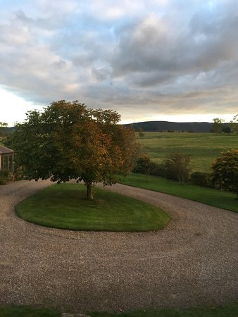 Thropton, UK: View from the farmhouse