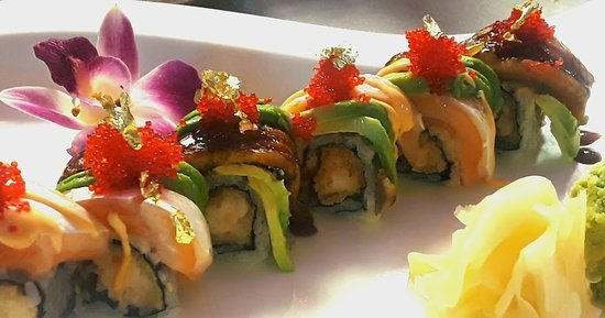 Exton, Pensilvania: Special roll for chef's omakase menu!
