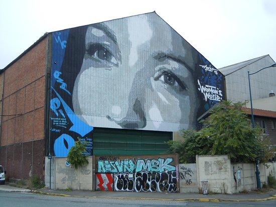 Pantin, Francia: La fresque
