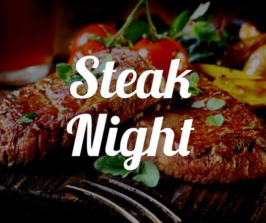 Lyminge, UK: Steak Nights, held every other Friday. Check our Facebook Page for dates (Booking Essential)