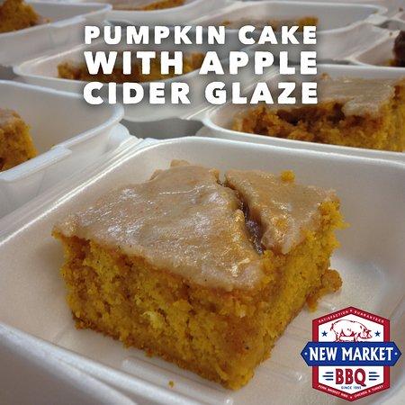 New Market, AL : Pumpkin Cake with Apple Cider Glaze