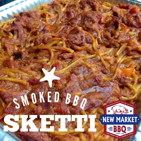 New Market, AL : BBQ  Sketti - Special Menu Item - Call for availability - homemade sauce including Brisket & Por